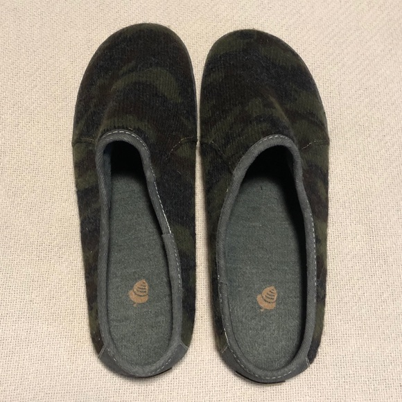 Acorn Other - Acorn Crossroads Camo Mule Slip on Shoe Slipper